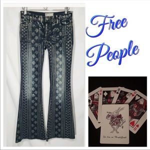 New Free People Century Bali Flare 26 X 32 Jeans